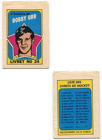 The Bobby Orr Story Mini Full Color Booklet (Canadian Version)