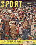 Sport Magazine - Great World Series & Football Issue - October 1950