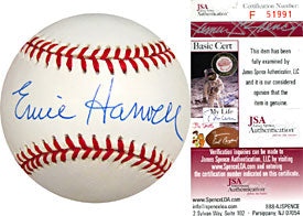Ernie Harwell Autographed / Signed Baseball (James Spence)