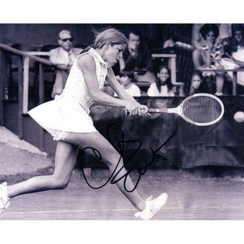 Chris Evert Autographed 8x10 Photo