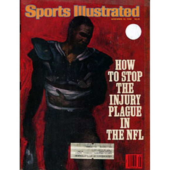 How To Stop Injury 1986 Sports Illustrated
