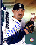 Eddie Guardado Autographed / Signed Posing 8x10 Photo