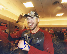 Chris Carpenter Autographed / Signed Boston Red Sox 8x10 Photo