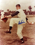 Clem Labine Autographed / Signed 8x10 Photo - Brooklyn Dodgers