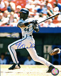 Preston Wilson Autographed / Signed Hiting 8x10 Photo