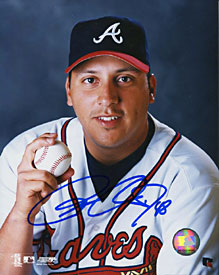 Russ Ortiz Autographed/Signed 8x10 Photo