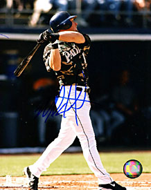 Mark Kotsay Autographed / Signed After Hit 8x10 Photo
