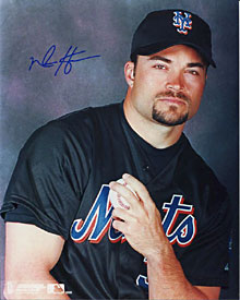 Mike Hampton Autographed/Signed 8x10 Photo