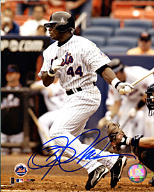 Mike Cameron Autographed / Signed Hitting 8x10 Photo