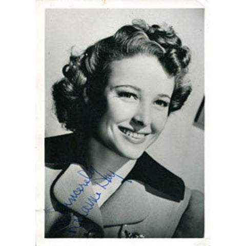 Elaine Day Autographed / Signed 4x6 Photo (James Spence)