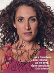Melina Kanakaredes Autographed / Signed Celebrity 8x10 Photo