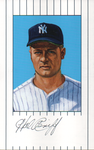 Hal Reniff Autographed 1961 New York Yankees Ron Lewis Card