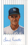 Frank Crosetti Autographed 1961 New York Yankees Ron Lewis Card
