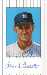 Frank Crosetti Autographed 1961 New York Yankees Ron Lewis Card #33