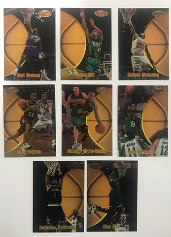 1997 Topps Bowmans Best Members Only Lot (7 Cards)