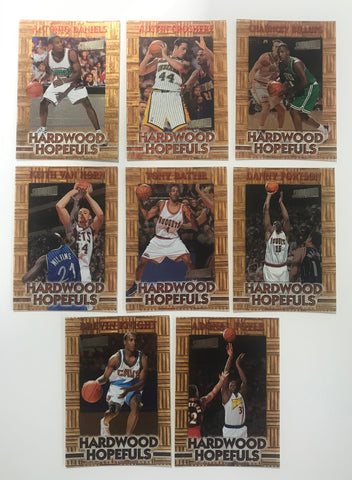 1997 Topps Hardwood Hopefuls Members Only Lot (8 Cards)