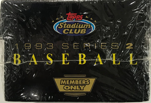 1993 Topps Series 2 Baseball Members Only Complete Set Factory Sealed