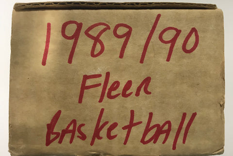 1989-90 Fleer Basketball Complete Set with Stickers