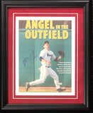 Mike Trout Autographed Framed Angles in the Outfield Newspaper Page (JSA)