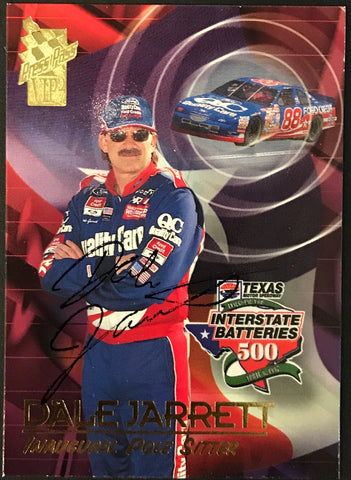 Dale Jarrett Autographed 1997 Press Pass Racing Card