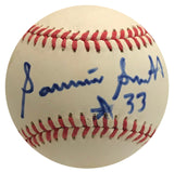 Sammie Smith Autographed Official National League Baseball