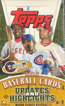 2005 Topps Update and Highlights Baseball Hobby Wax Box
