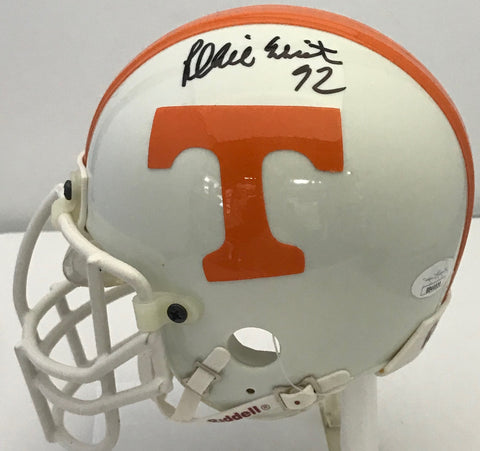 Reggie White Autographed Tennessee Volunteers Mini Helmet (JSA)