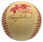 Gary Carter Autographed 1986 Official World Series Baseball (JSA)