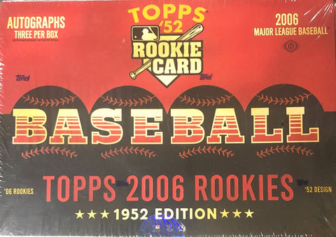 2006 Topps 1952 Edition Baseball Hobby Wax Box