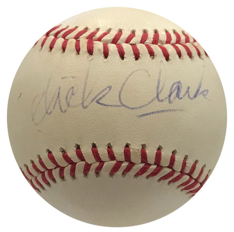 Dick Clark Autographed Official American League Baseball (JSA)