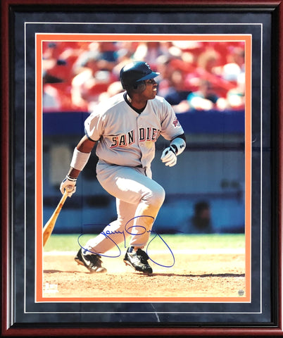 Tony Gwynn Autographed Framed 16x20 Photo