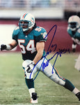 Zach Thomas Miami Dolphins 8x10 Autographed Photo