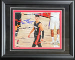 Tyler Herro Autographed Framed The Snarl 8x10 Photo (JSA)