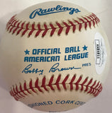 Carl Yastrzemski Autographed Official American League Baseball (JSA)