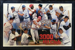 3000 Hit Club Autographed Framed 22x35 Lithograph