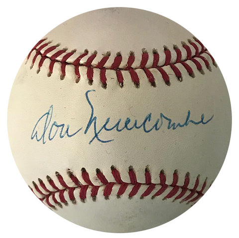 Don Newcombe Autographed Official Baseball (JSA)
