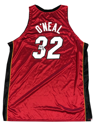 Shaquille O'Neal Autographed Authentic 2006-07 Game Model Jersey (JSA)