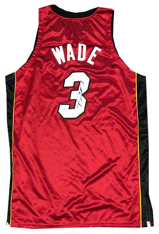 Dwyane Wade Autographed Authentic 2006-07 Game Model Jersey (JSA)