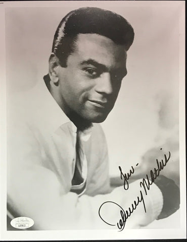 Johnny Mathis Autographed 8x10 Photo (JSA)
