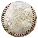 Roberto Clemente Autographed Official National League Baseball (PSA)