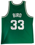 Larry Bird Autographed Boston Celtics Jersey