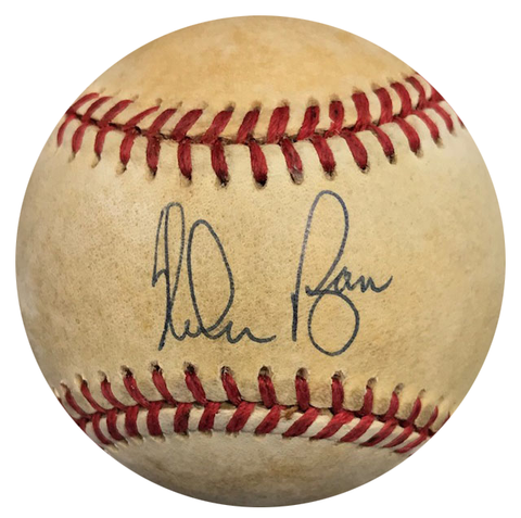 Nolan Ryan Autographed Official American League Baseball (JSA)