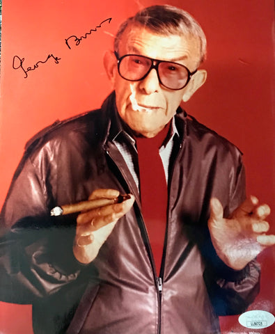 George Burns Autographed 8x10 Photo (JSA)