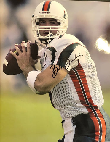 Brock Berlin Autographed 8x10 Football Photo