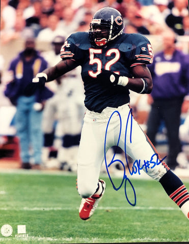 Bryan Cox Autographed 8x10 Football Photo