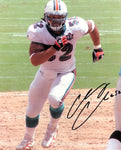 Channing Crowder Autographed 8x10 Football Photo