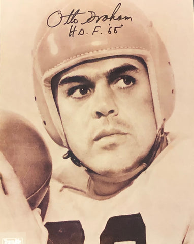 Otto Graham H.O.F. 65 Autographed 8x10 Photo