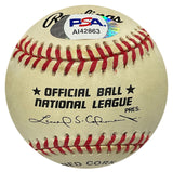 "Joe Black ""ROY 52"" Autographed Baseball (PSA)"