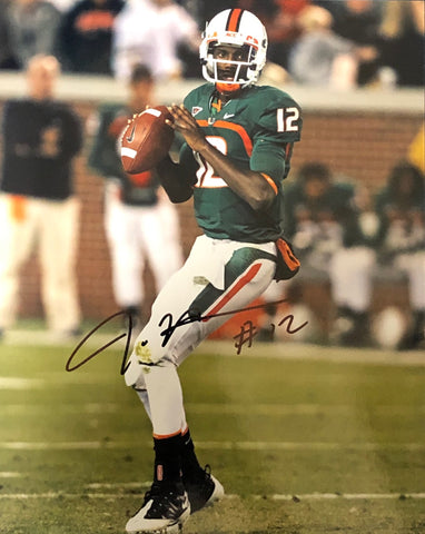 Jacory Harris Autographed 8x10 Photo