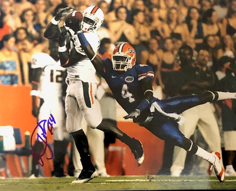 Aldarius Johnson Autographed 8x10 Photo